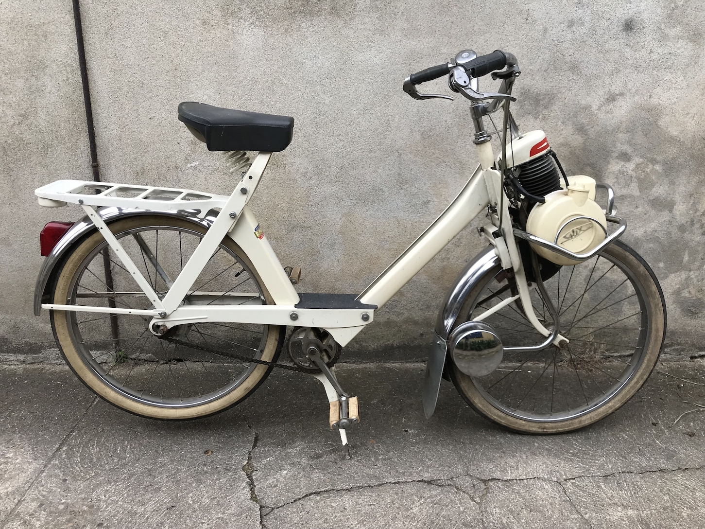 VELOSOLEX 3800 SUPERLUXE BLANC VELOCYCLO 3
